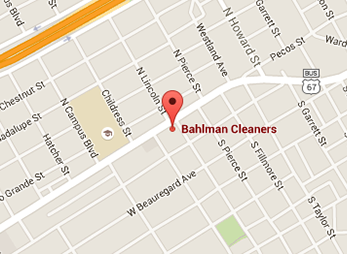 Bahlman Cleaners Central San Angelo
