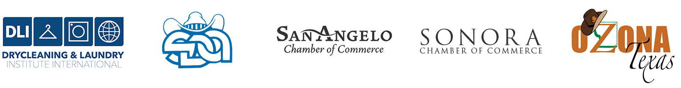 Bahlman Cleaners is a Proud member of DLI, SDA, San Angelo Chamber of Commerce, Sonora Chamber of Commerce, Ozona Chamber of Commerce