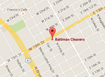 Bahlman Cleaners North San Angelo
